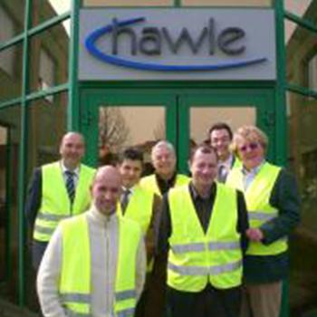 Visita tecnica presso Hawle (Austria) all'inizio della collaborazione - Marzo 2008
